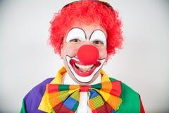 Smiling clown Stock Photos