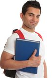Smiling college student royalty free stock photo