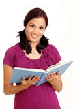 Smiling college student Stock Image