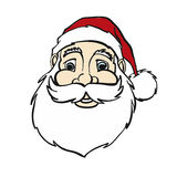 Smiling Comic Santa Claus Portrait Royalty Free Stock Image