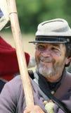 Smiling Confederate Stock Image