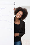 Smiling confident businesswoman Stock Photo