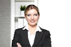 Smiling confident professional woman Royalty Free Stock Photography