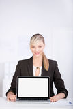 Smiling consultant Stock Photography