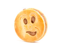 Smiling cookie Royalty Free Stock Photo