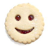 Smiling cookie Stock Photography