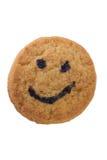 Smiling cookie Stock Photos