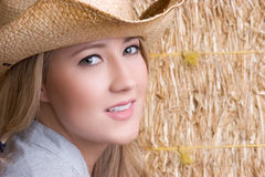Smiling Country Girl Stock Photos