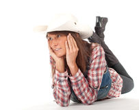 Smiling country girl Royalty Free Stock Photography