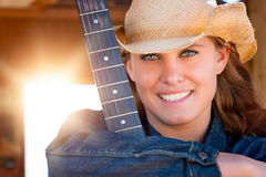 Smiling Country Girl Royalty Free Stock Image