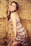 Smiling Country Girl Royalty Free Stock Photos