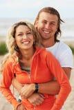 Smiling couple stock photos