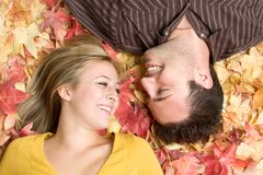 Smiling Couple stock images