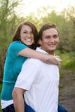 Smiling Couple Royalty Free Stock Image