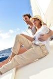 Smiling couple enjoying on a cruise Stock Photography