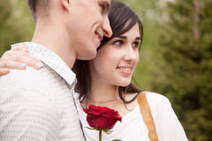 Smiling couple Royalty Free Stock Photos