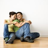 Smiling couple portrait. Stock Image