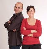 Smiling couple Stock Image