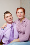 Smiling couple. Stock Photography