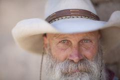 Smiling Cowboy Stock Photography