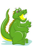 Smiling crocodile Royalty Free Stock Image