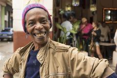 Smiling Cuban woman Havana Royalty Free Stock Photography