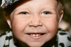 Smiling cute boy Royalty Free Stock Photography