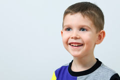 Smiling cute little boy Stock Photography