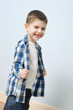 Smiling cute little boy Royalty Free Stock Photo