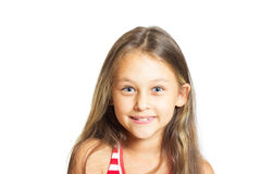 Smiling cute little girl Royalty Free Stock Photography
