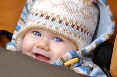 Smiling cuty royalty free stock photos