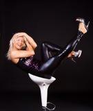 Smiling Dancer Stock Images
