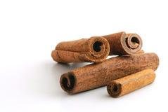 Smiling delicious cinnamon Stock Photos