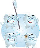 Smiling dentes royalty free stock images