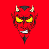 Smiling devil Head Stock Images