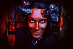 Smiling devil Royalty Free Stock Image
