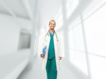Smiling doctor Stock Photos