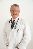 Smiling Doctor looking happy Stock Images
