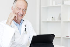 Smiling doctor Stock Images