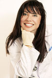 Smiling Doctor Or Nurse Stock Images