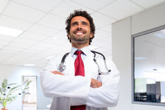 Smiling doctor portrait Royalty Free Stock Photo