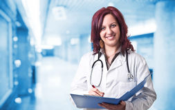 Smiling doctor Royalty Free Stock Images