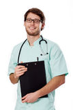 Smiling doctor Stock Photography