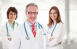 Smiling doctors Royalty Free Stock Photography