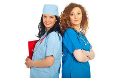 Smiling doctors women Royalty Free Stock Photos