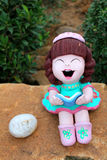 Smiling doll Royalty Free Stock Photography