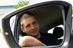 Smiling driver Royalty Free Stock Photos