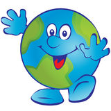 Smiling Earth. Royalty Free Stock Photo