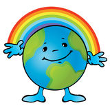 Smiling Earth. Royalty Free Stock Images