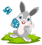 Smiling easter bunny Royalty Free Stock Images